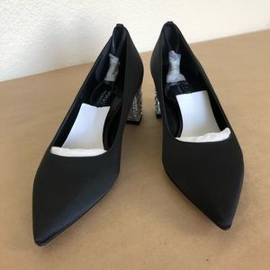 a30a1a1ae27c Charles   Keith Shoes - Charles   Keith - Lucite Heel Satin Pumps